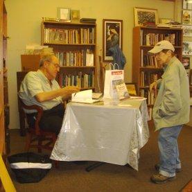 Bob Cudmore book signing