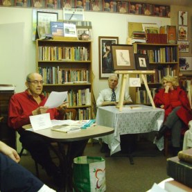Bob Cudmore reading