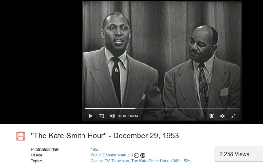 Kate Smith Hour with Howell and Radclilff
